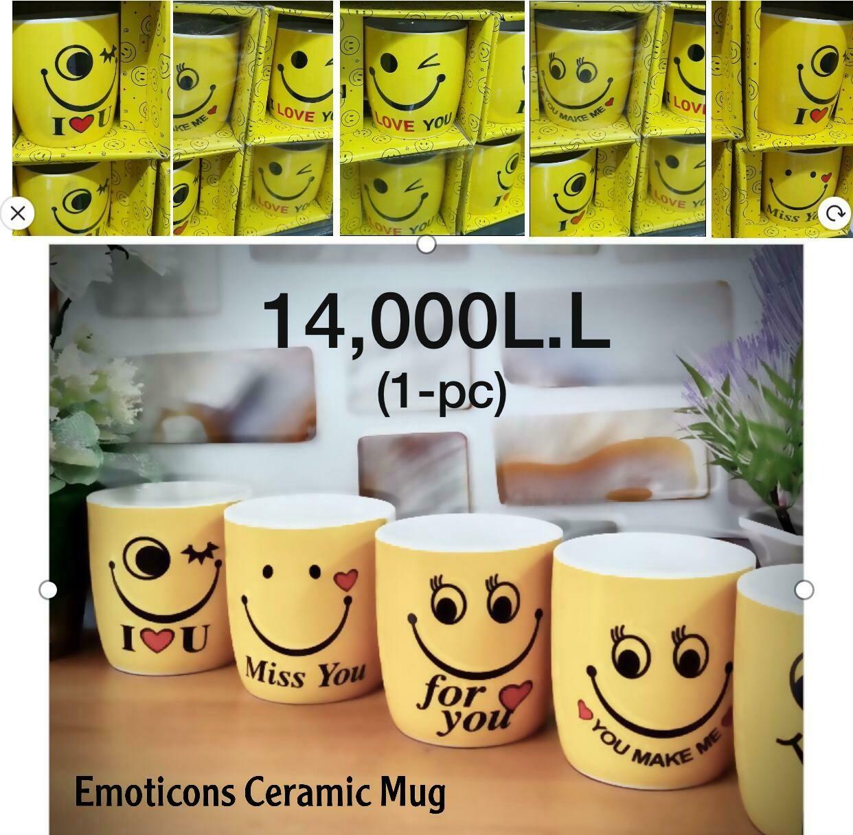 Emoticon Ceramic Mug