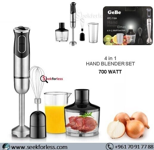 ​4 IN 1 Hand Blender Set