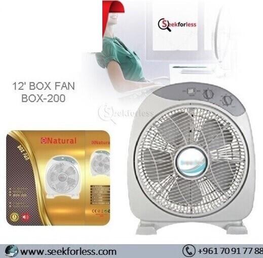"12"" Box Fan (BOX-200)"