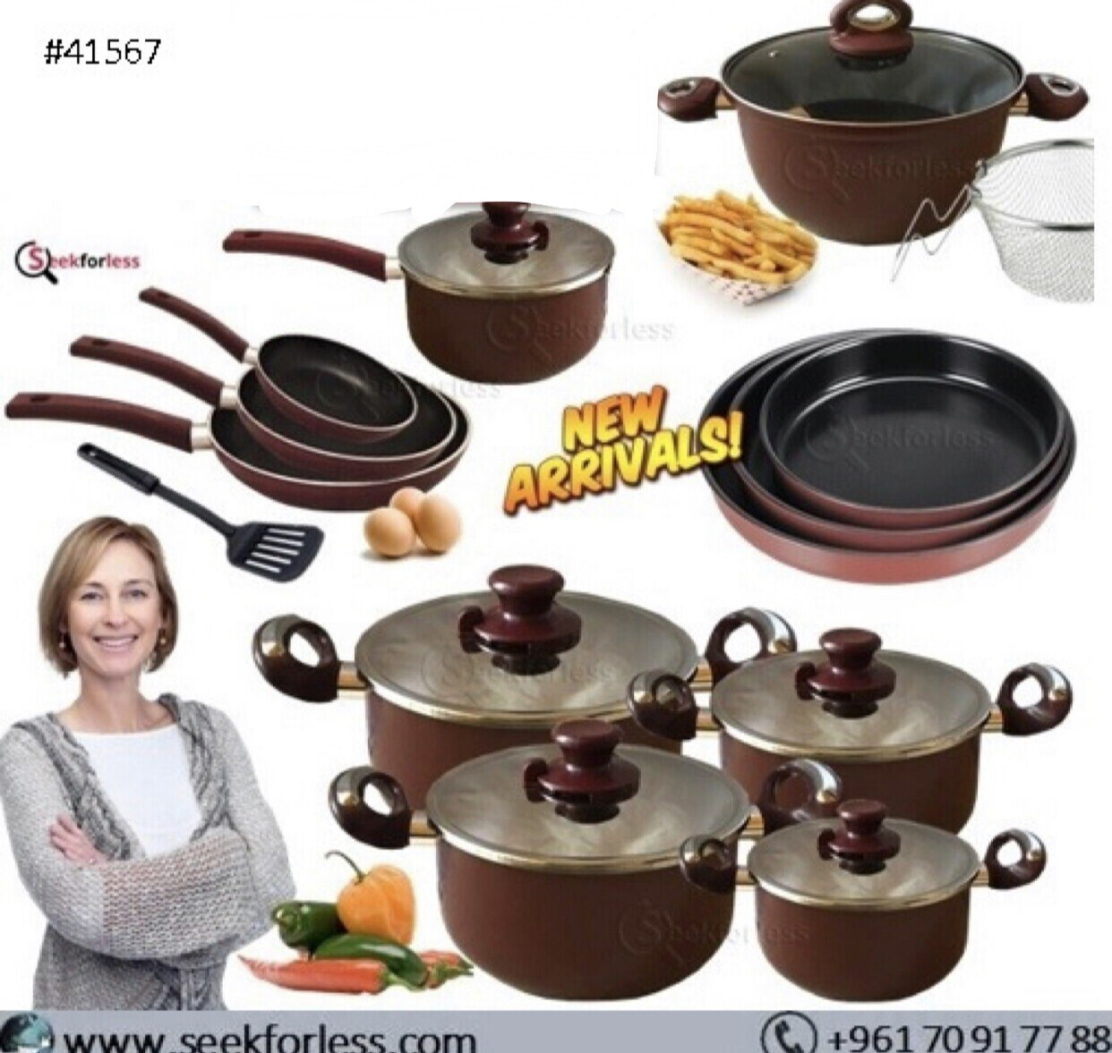 12-Pcs Cookware Offer
