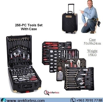​256-PC Tools Set With Case