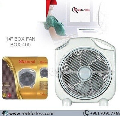 "14"" Box Fan (BOX-400)"