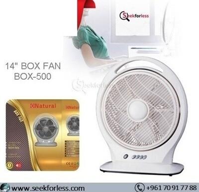 "14"" Box Fan (BOX-500)"