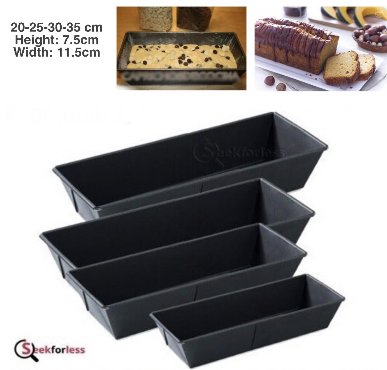 4-Pcs Plum Cake Tins