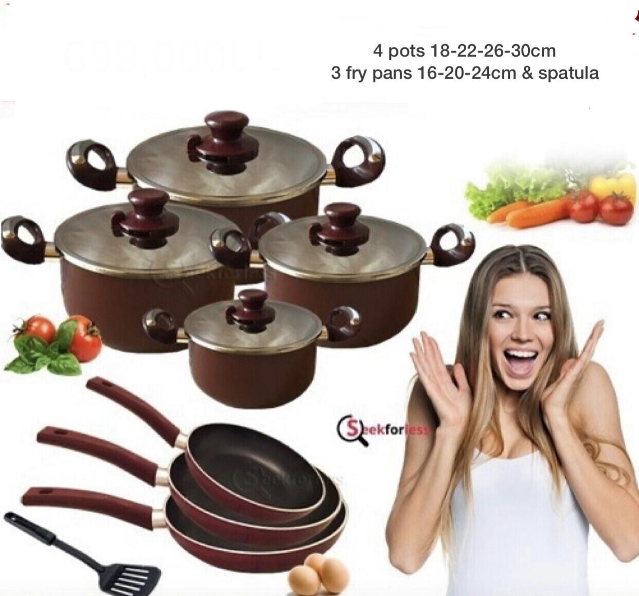 8-Pcs Cookware Offer