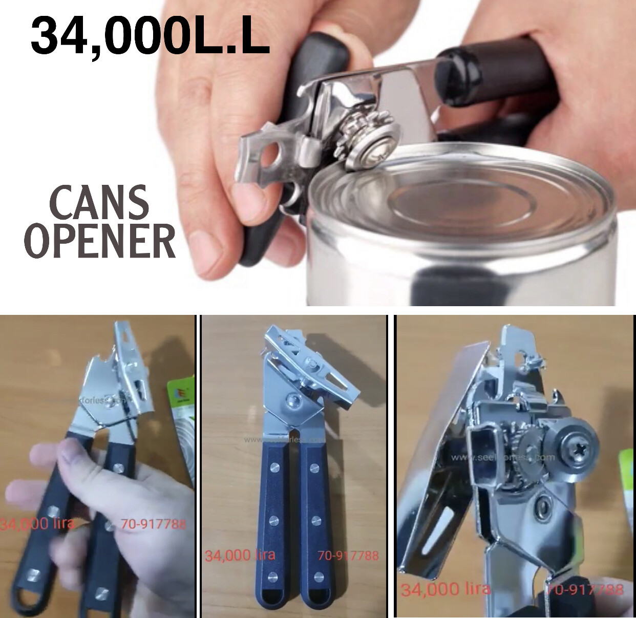 Cans Opener