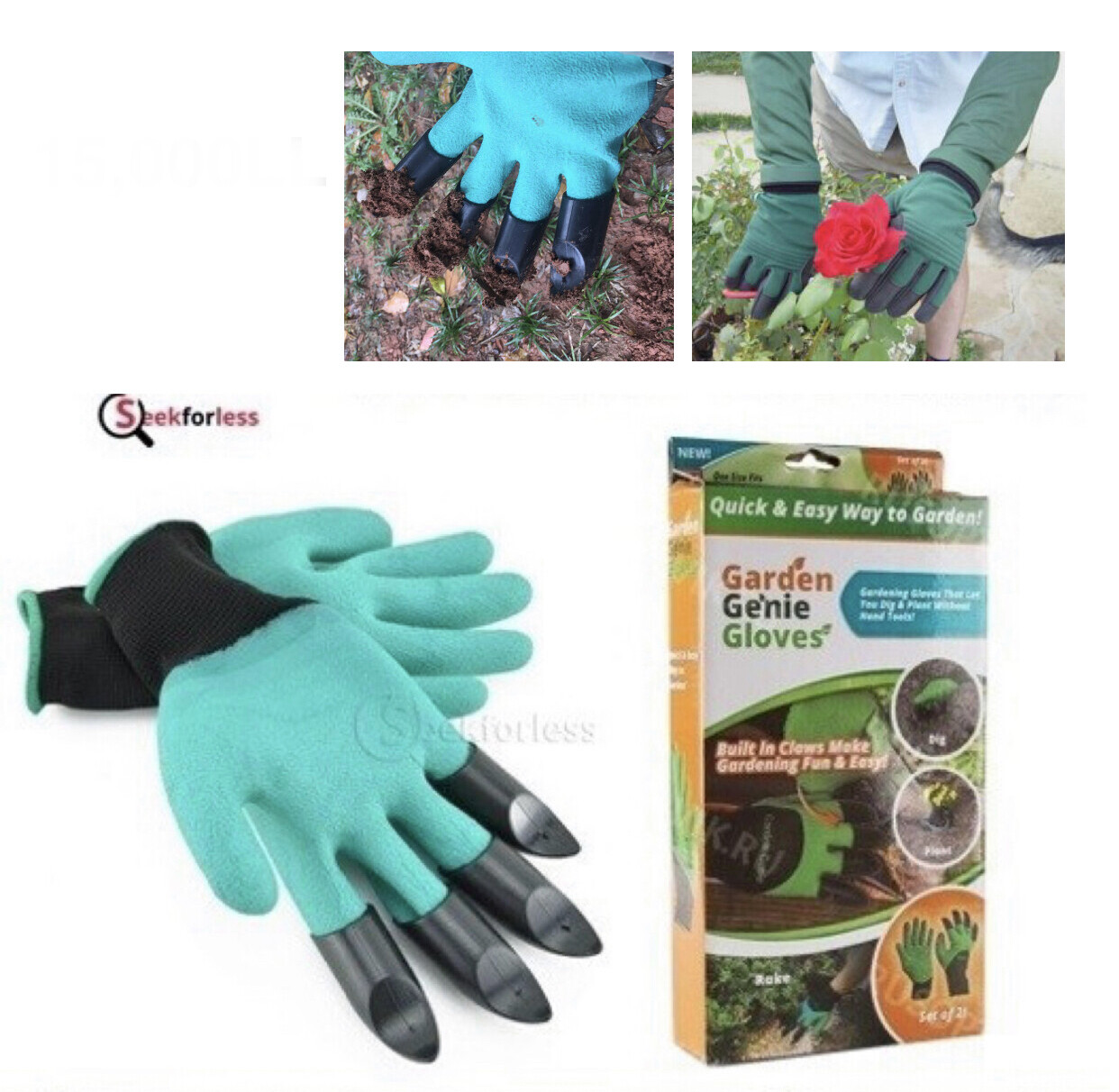 ​Garden Gloves With Claws