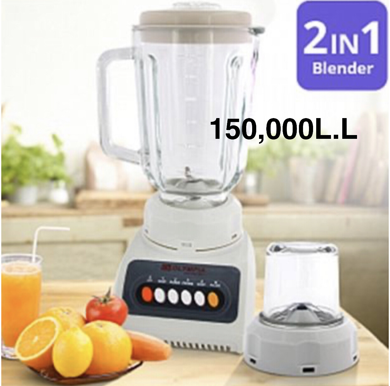 2in1 Blender