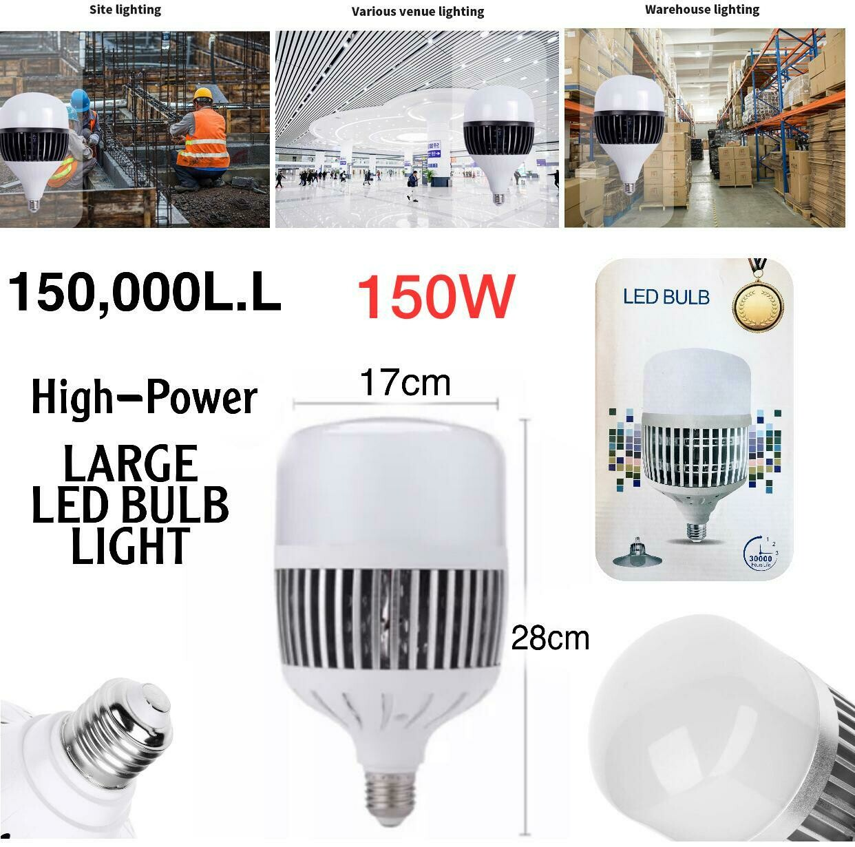 Large LED Bulb 150W