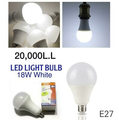 LED BULB (white 18W)
