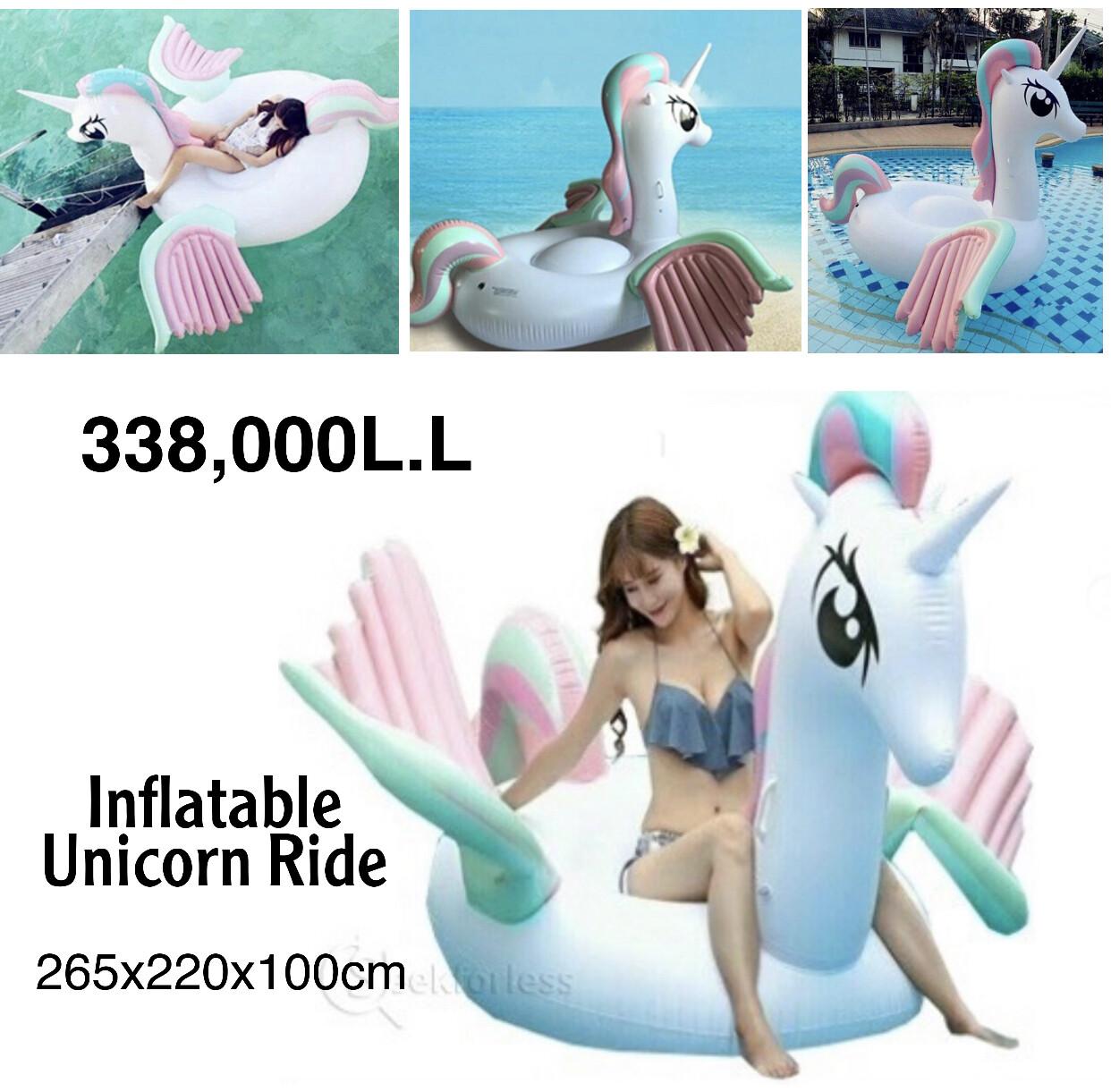 Inflatable Unicorn Ride