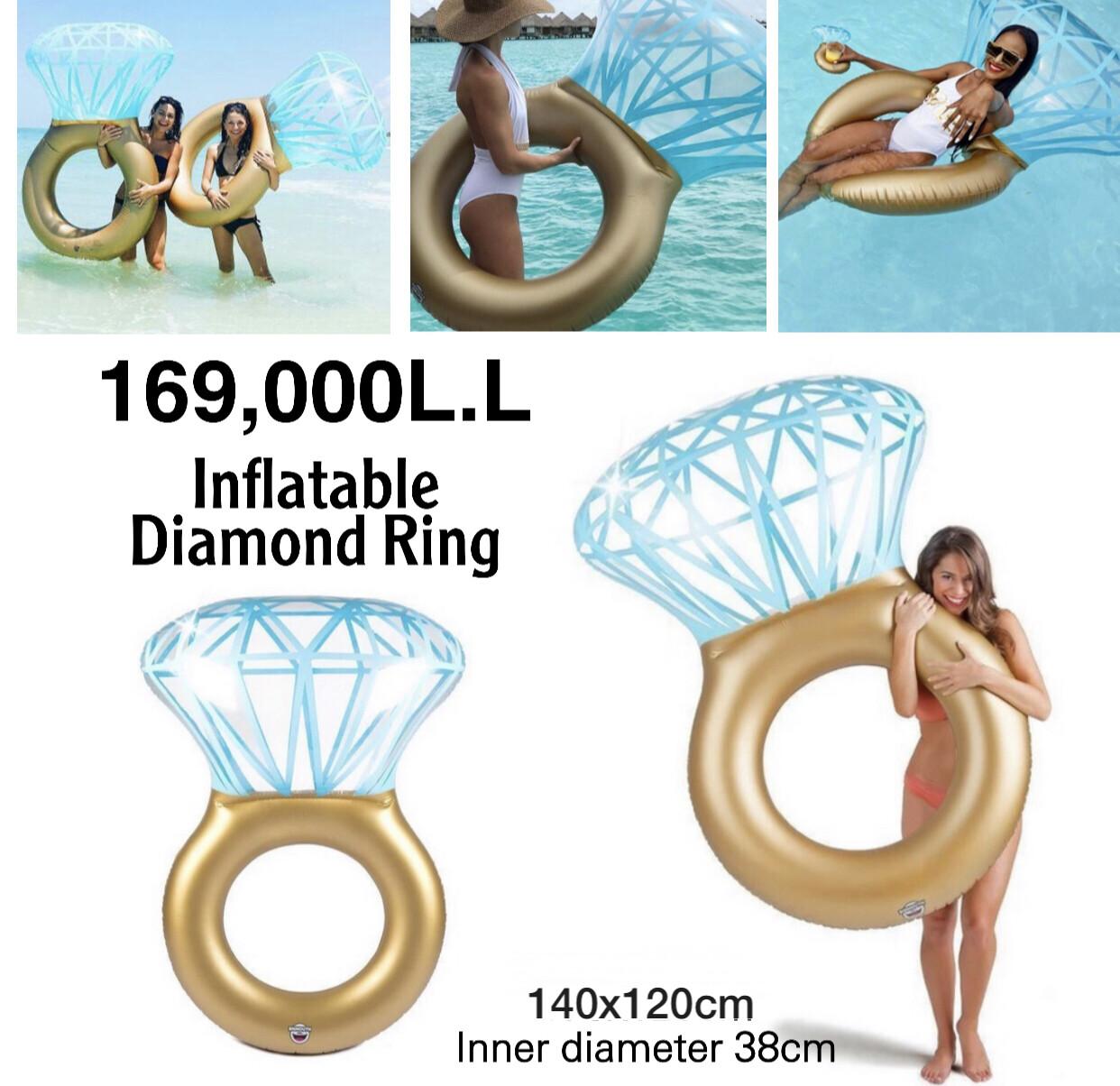 Inflatable Diamond Ring