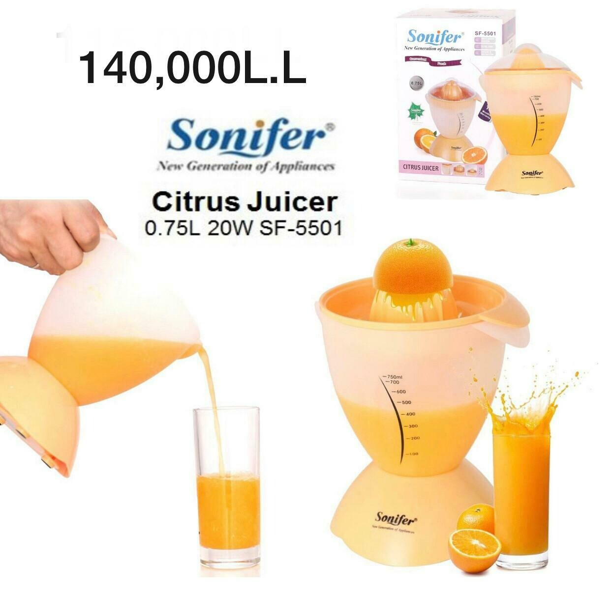 """""""SONIFER"""" Juicer SF-5501"""
