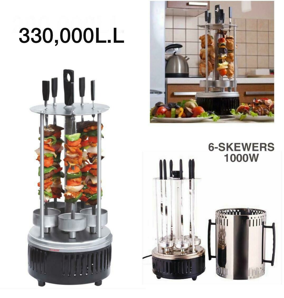 6–Skewers BBQ Grill
