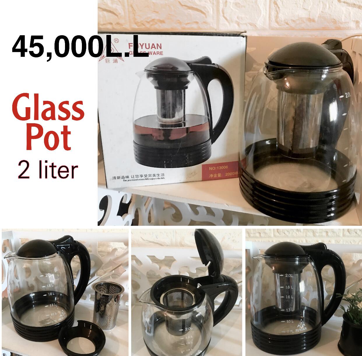 Glass Pot 2L