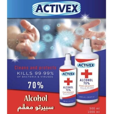 Antiseptic Alcohol Spray