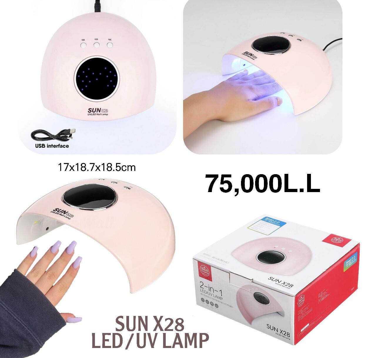 SUN X28 UV Lamp
