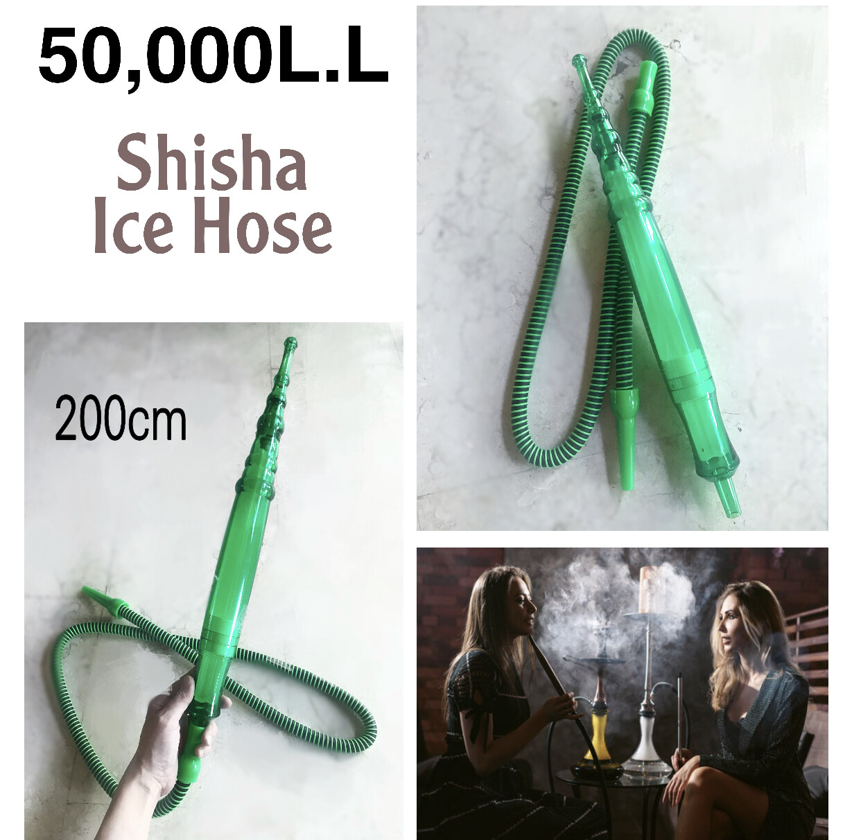 Shisha Ice Hose