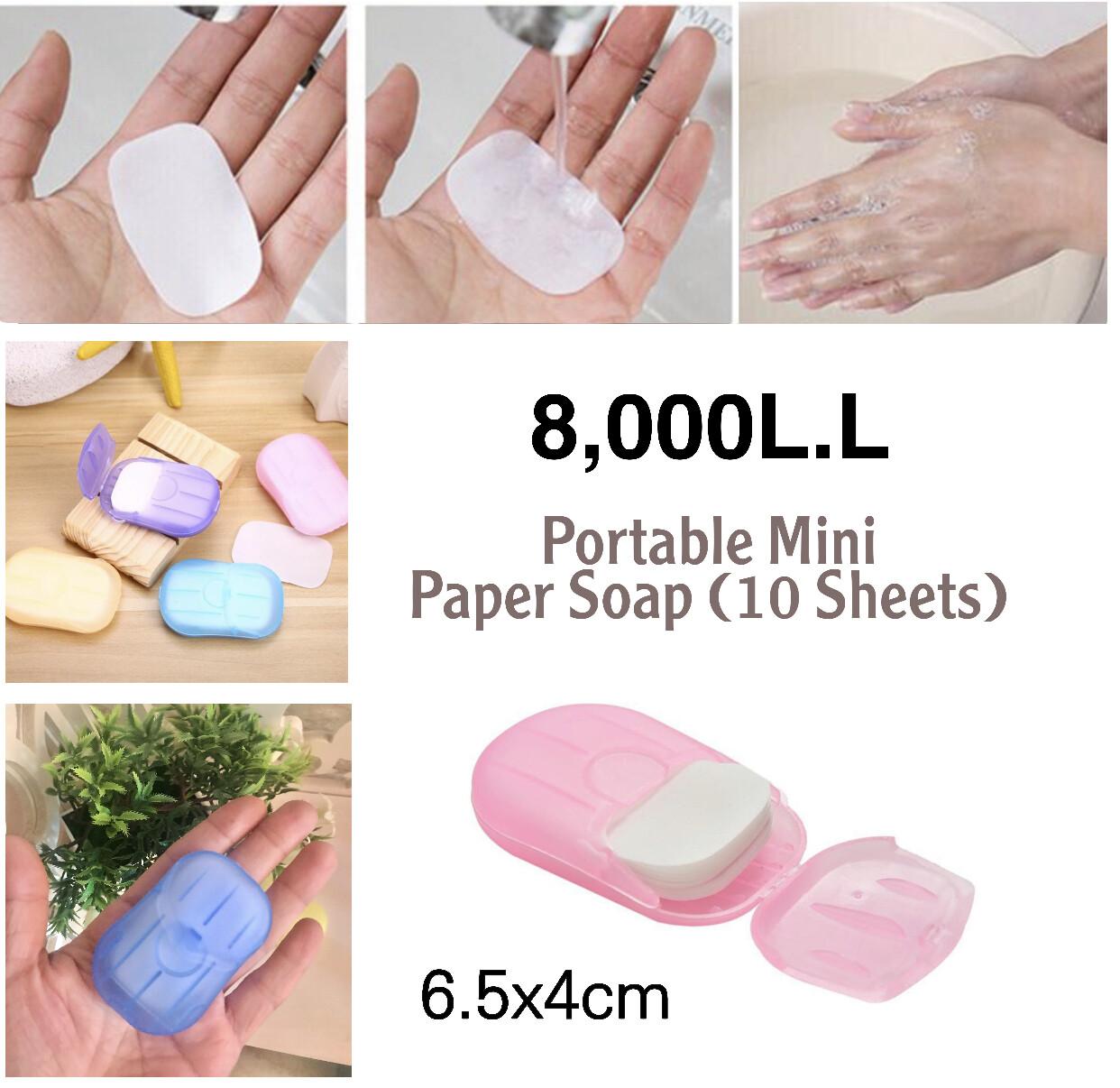 Mini Paper Soap
