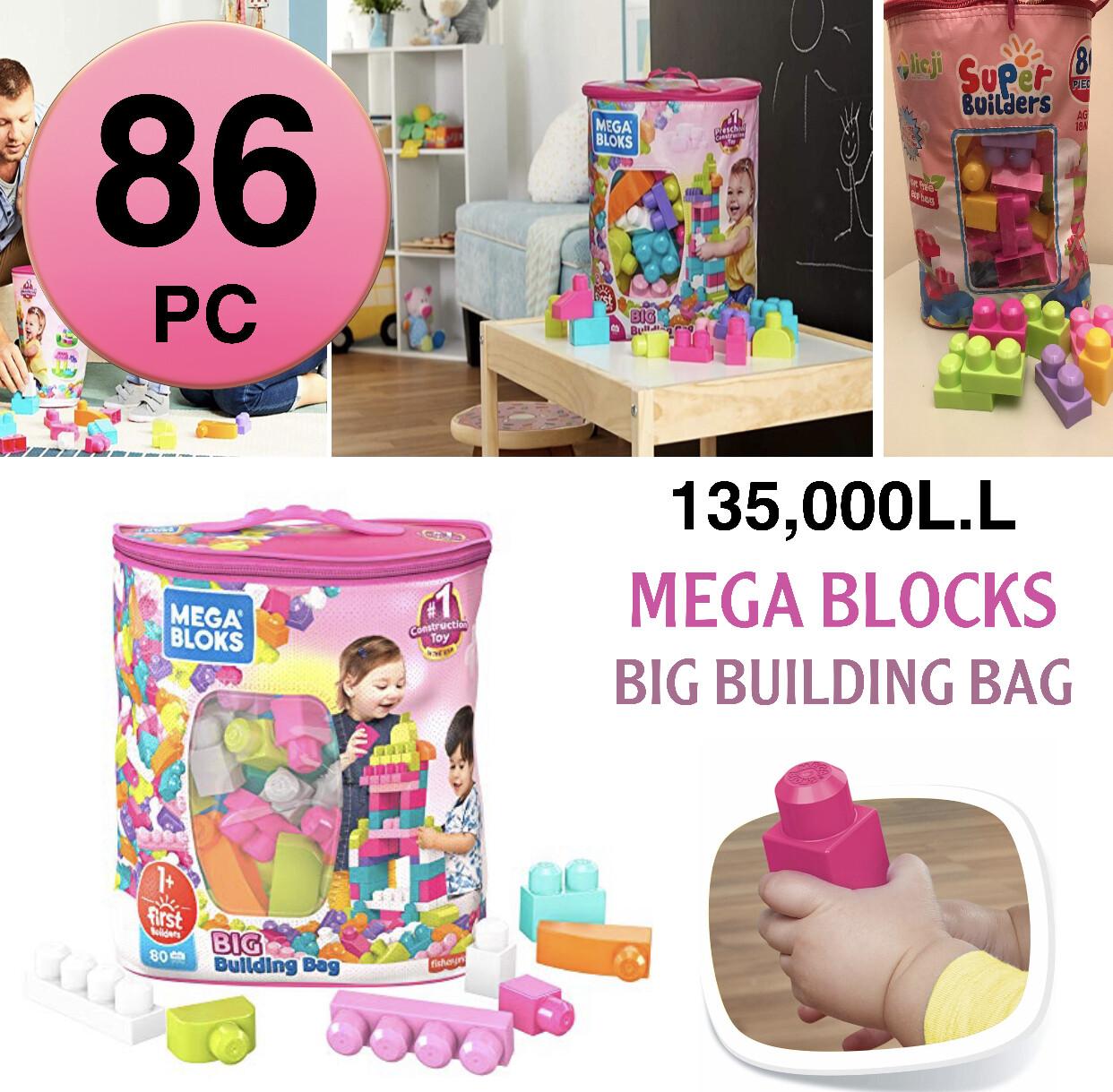 Mega Blocks Bag (86pc)
