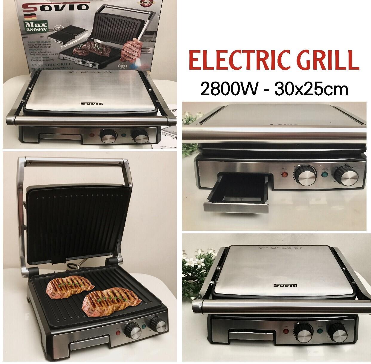 SOVIO Electric Grill