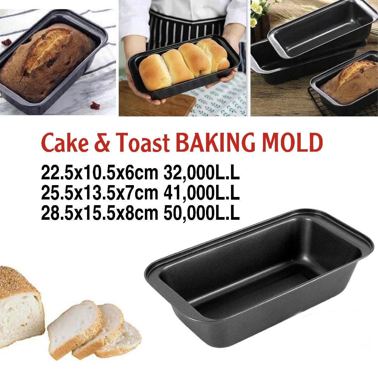 Cake & Toast Mold