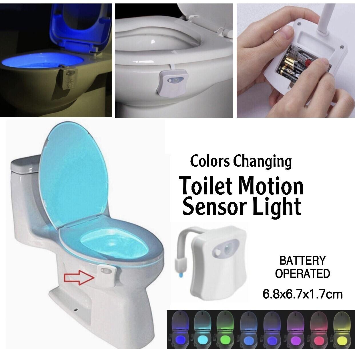 Sensor Toilet Light