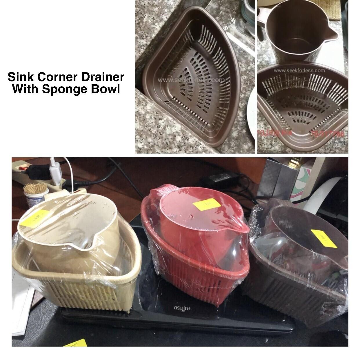 Sink Drainer & Bowl