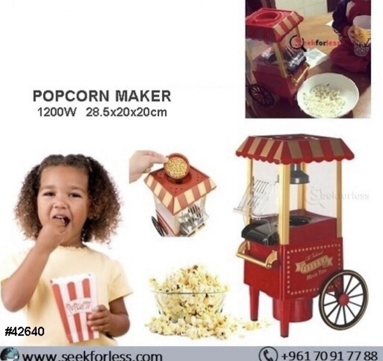 Nostalgic Popcorn Maker