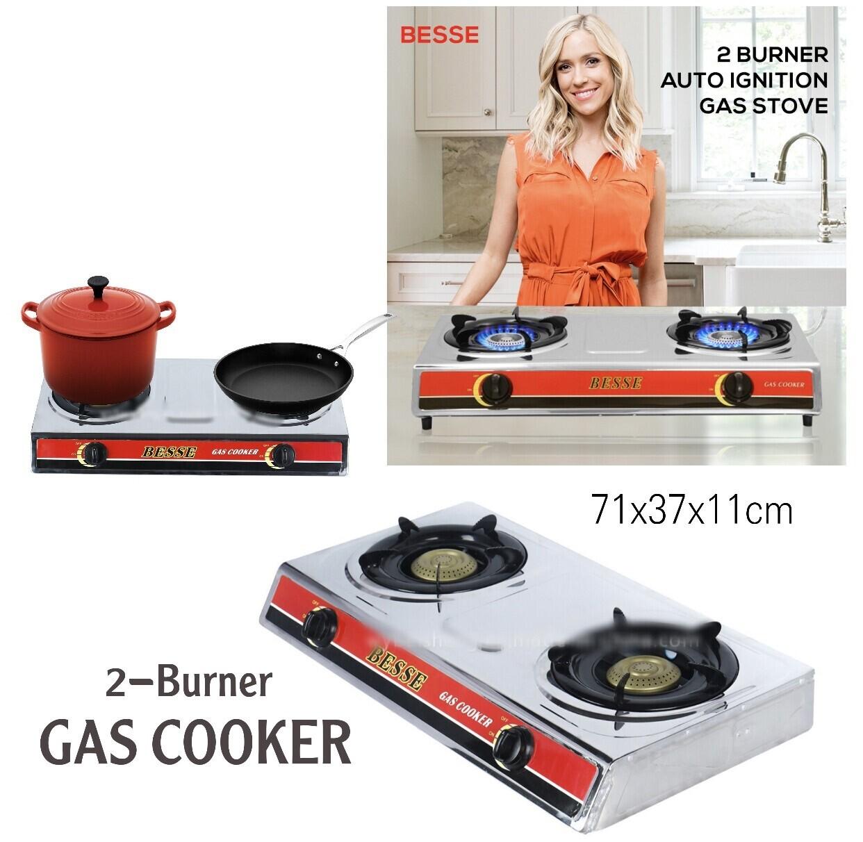 """""""BESSE"""" 2-Burner Cooker"""