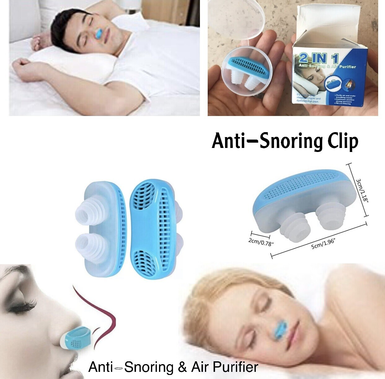 Anti-Snoring Clip