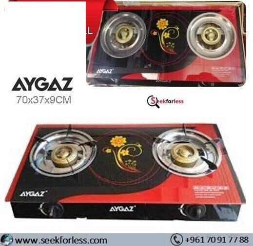 AYGAZ Gas Cooker Stove /2 Burners