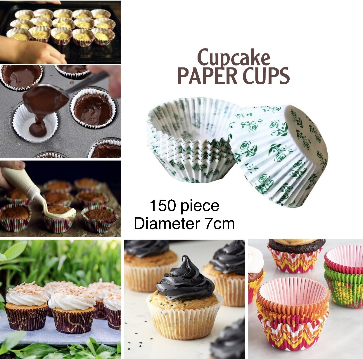 150pc Paper Cups