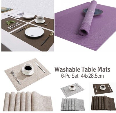 6-Pc Table Mats