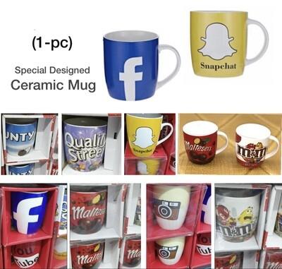 Designed Ceramic Mug