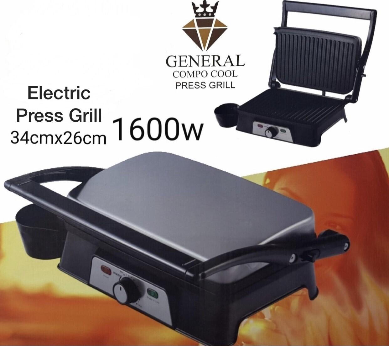 Electric Press Grill