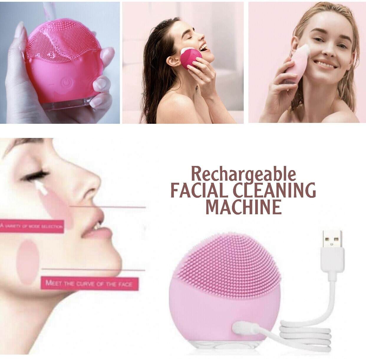 Facial Cleaning Machine