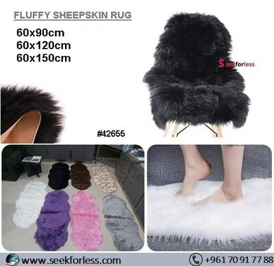 Fluffy Sheepskin Rug