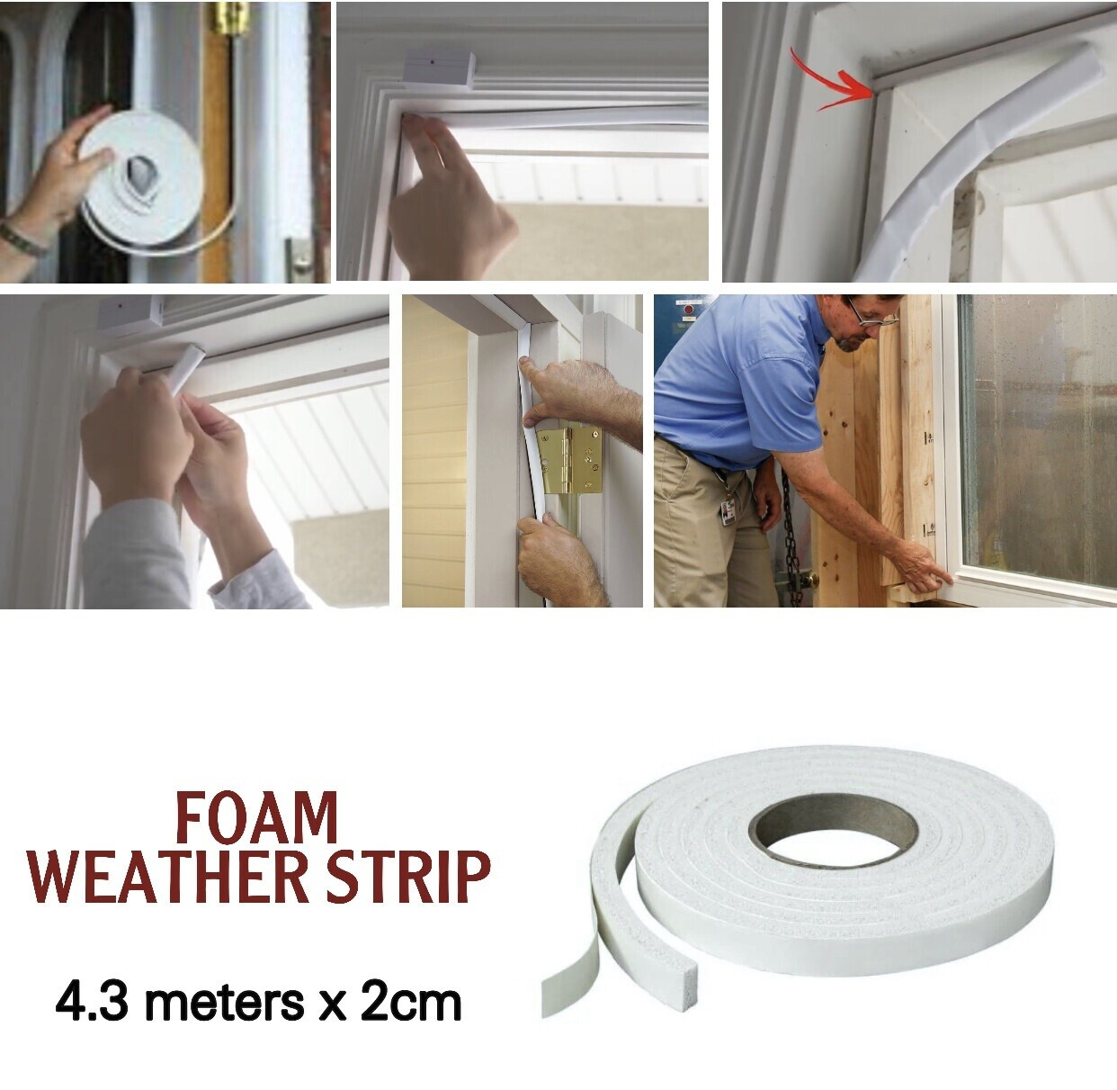 Foam Weather Strip