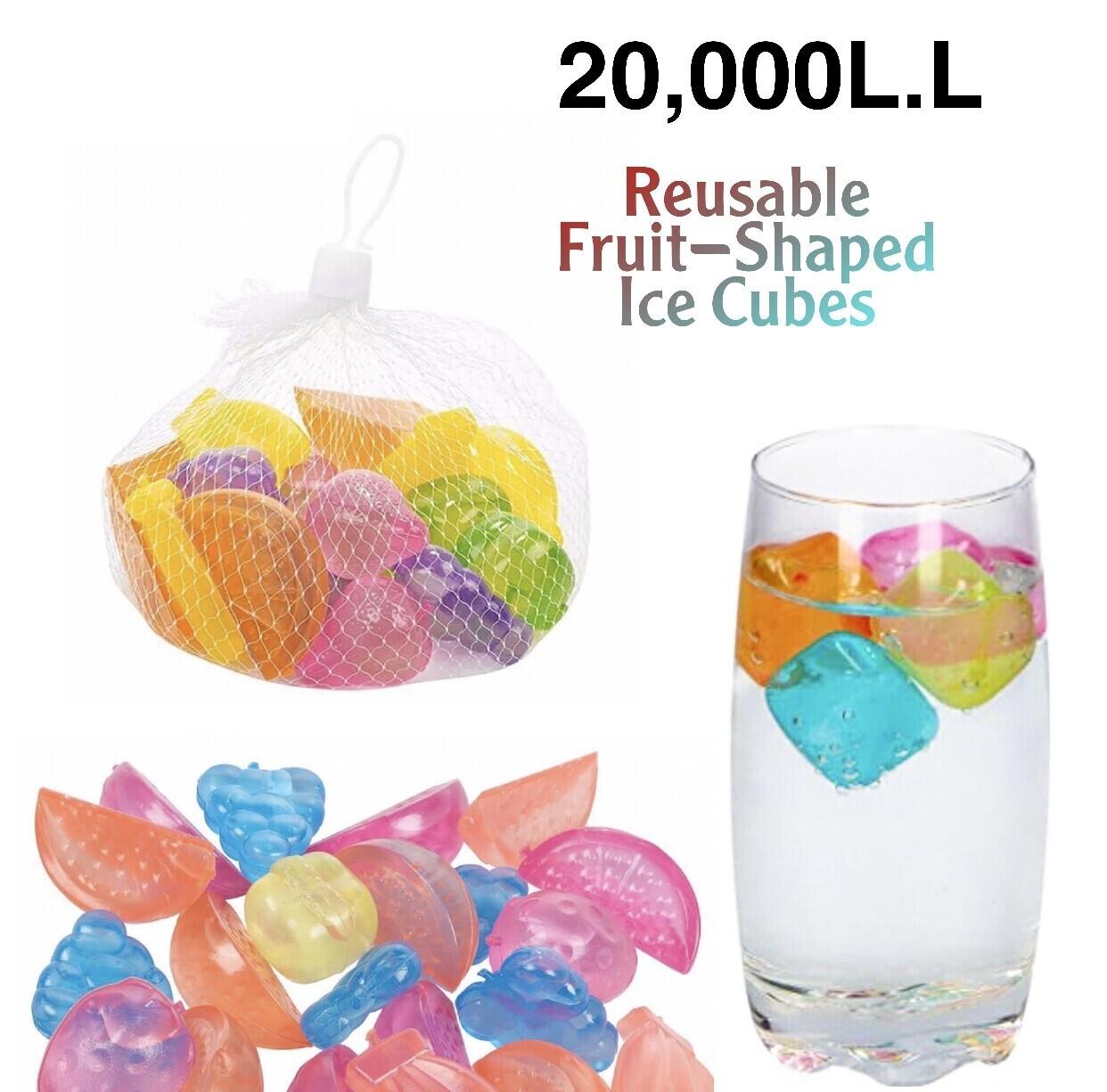 Fruit Shaped Ice Cubes