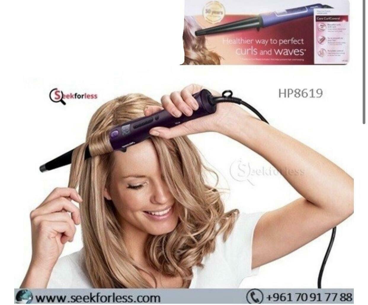 """""""Hair Curler (HP8619)"""