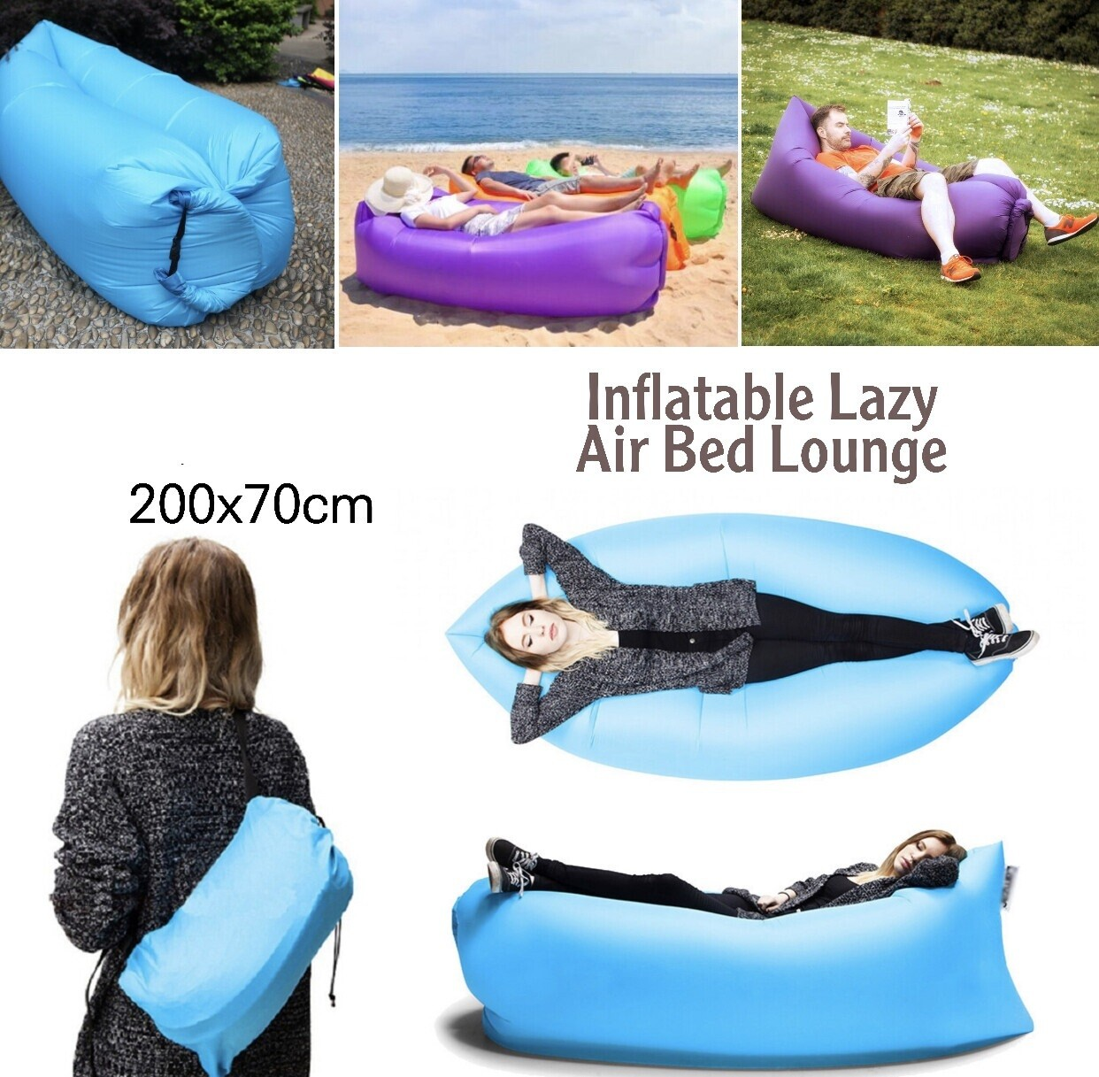 Inflatable Lazy Bed