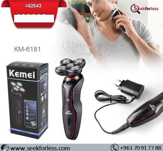 """KEMEI"" 5D Rotary Shaver (KM-618)"