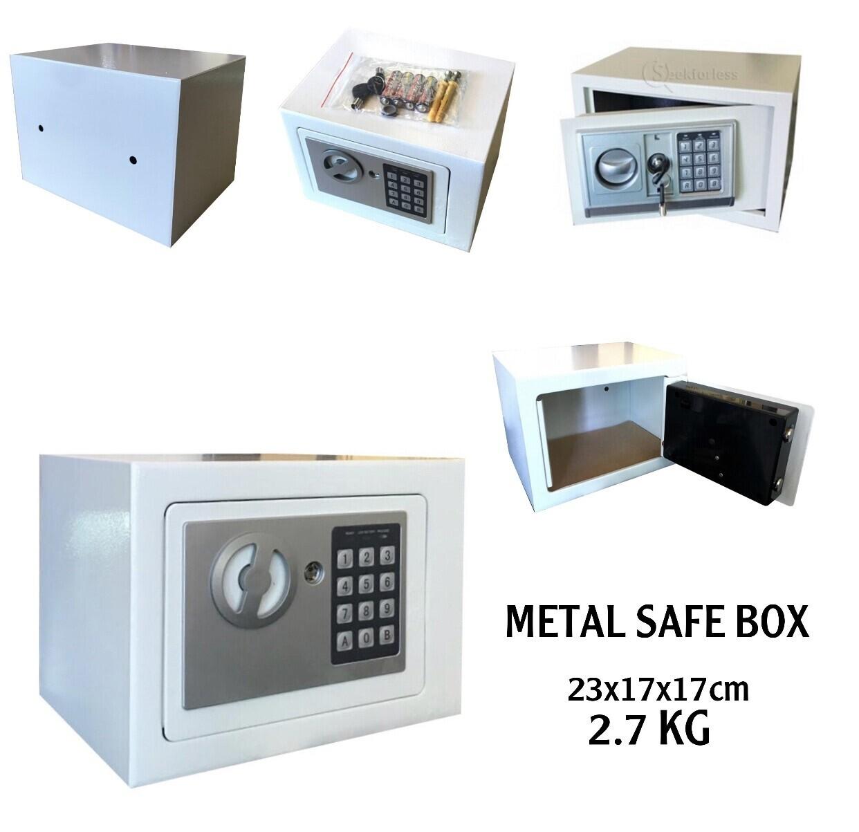 Metal Safe Box 23cm