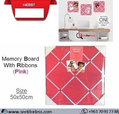Memory Board - PINK