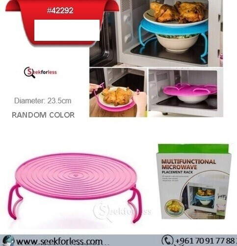 Microwave Placement Rack