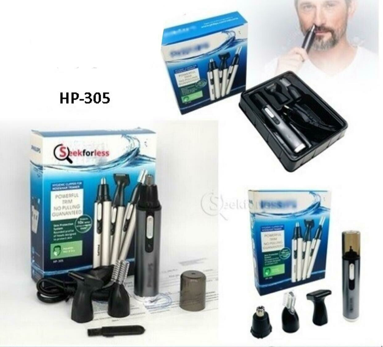 Nose & Hair Trimmer (HP-305)