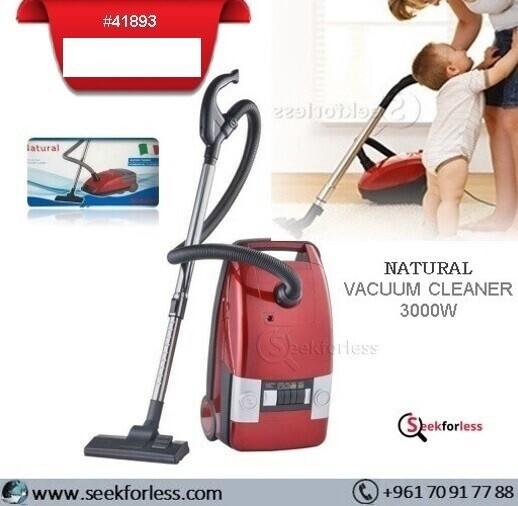 """NATURAL"" Vacuum Cleaner"