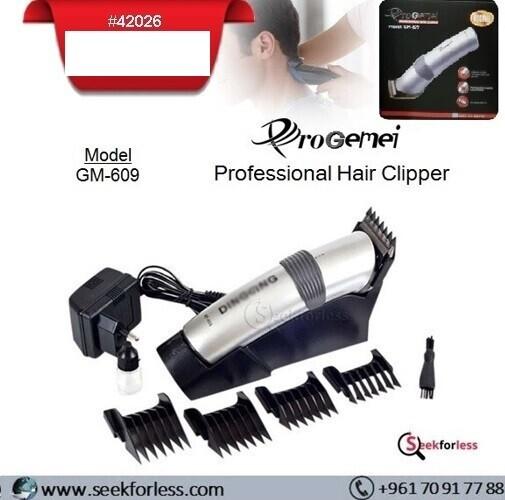 PROGEMEI Hair Clipper GM609