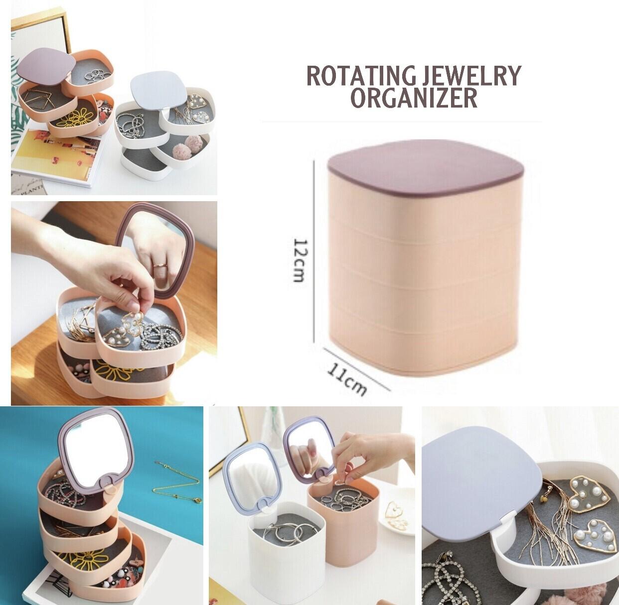Rotating Jewelry Organizer